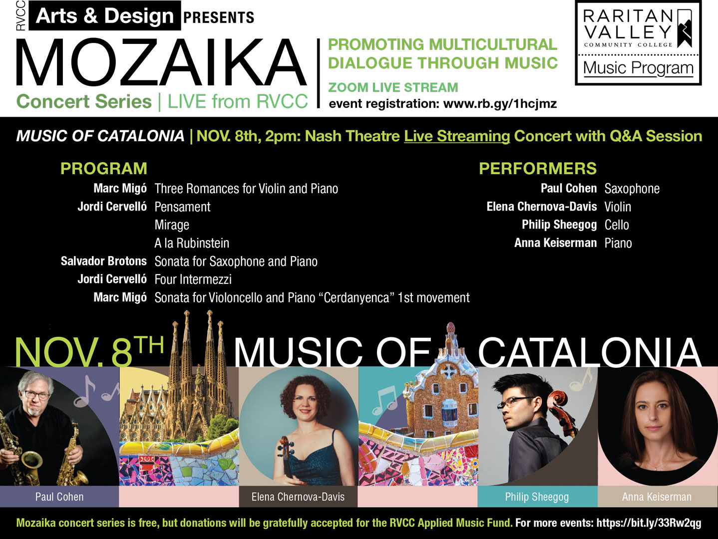 Music of Catalonia Poster
