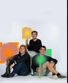 Anthony Sibaja Rojas, Alec Mulder, Alec Zarzor