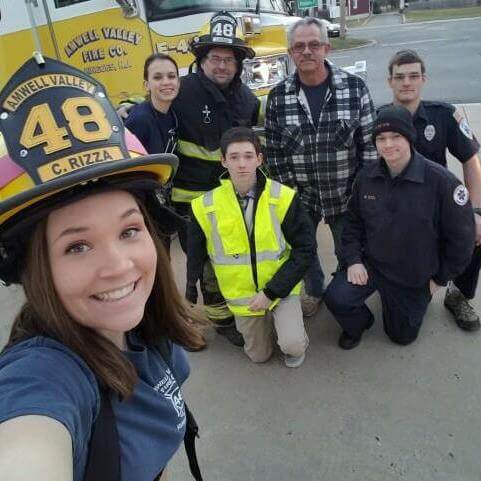 Firefighters use social media to recruit, spread safety message