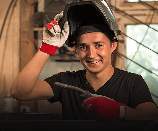 Career paths in AWS MIG Welding Program