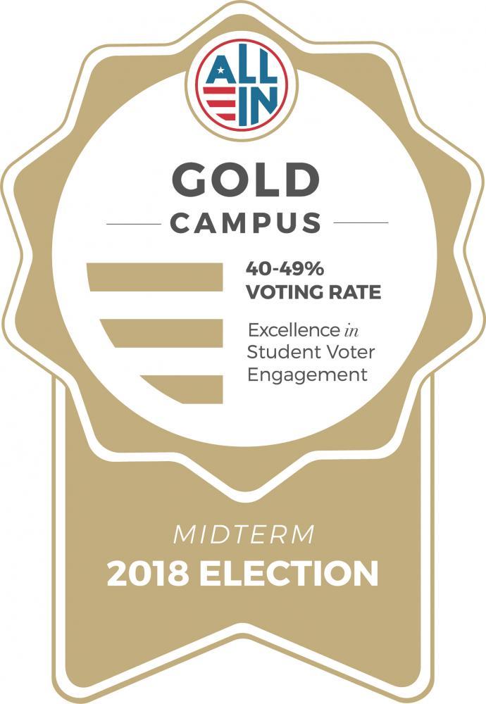 gold campus seal