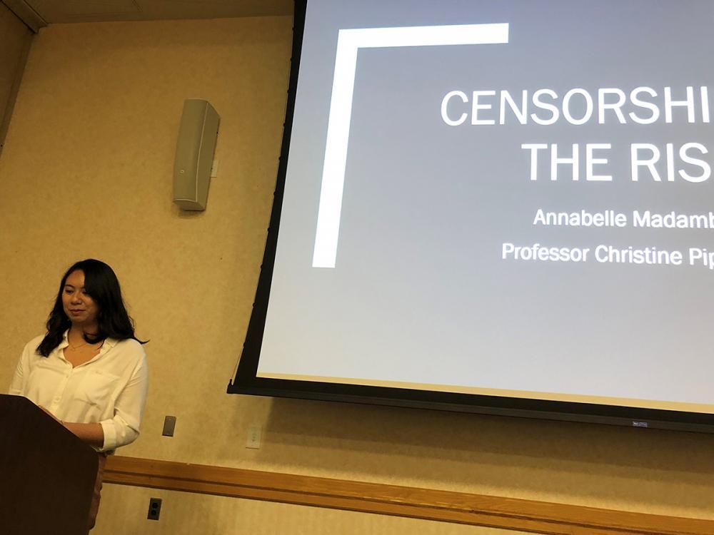 capstone female censorship presentation