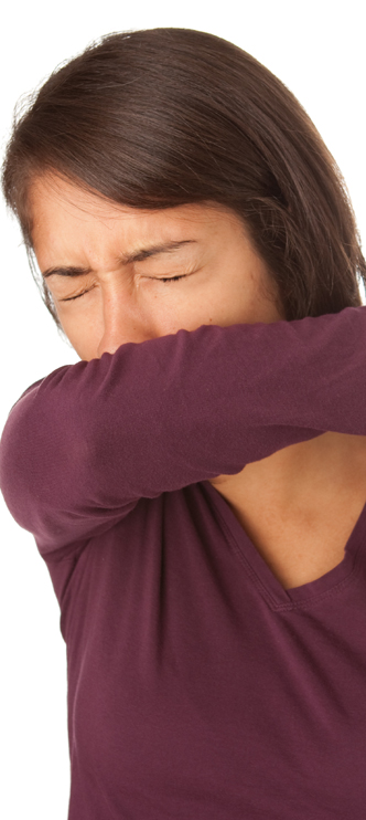 cough in sleeve