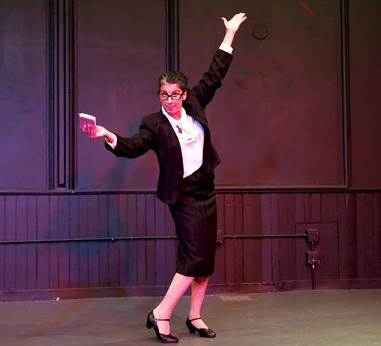 loretta fois dancing in costume