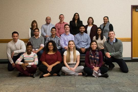 group photo of mentorship  program