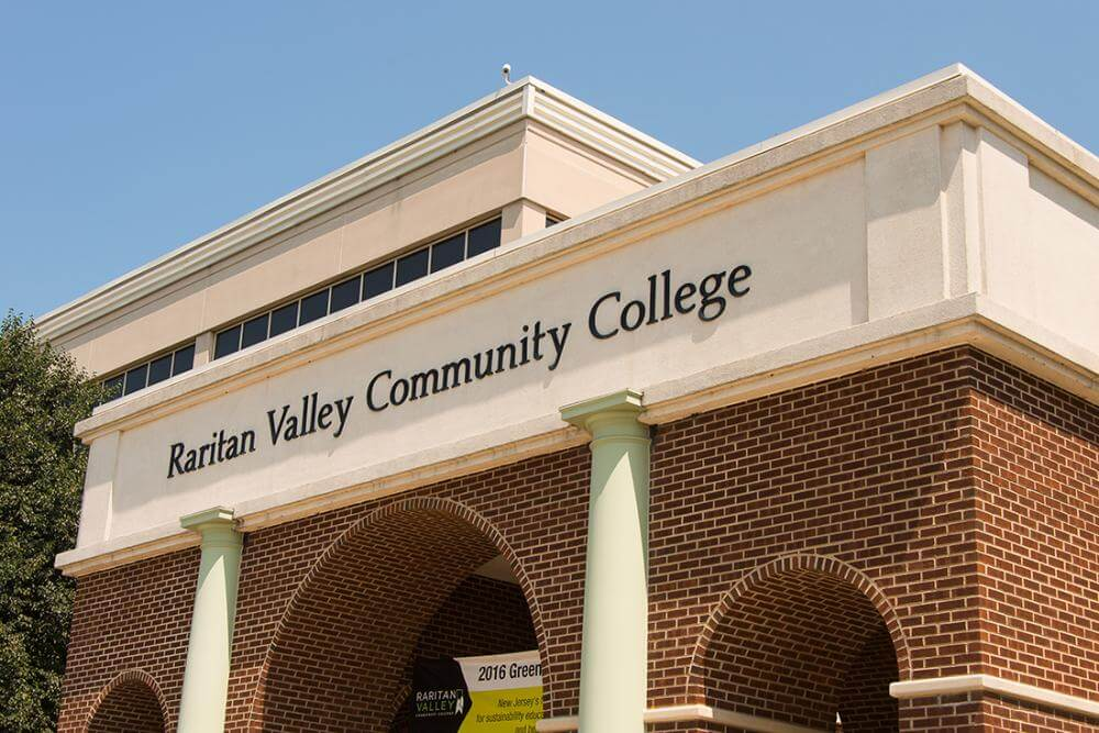 side view of RVCC sign