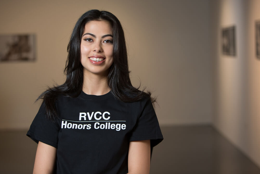 RVCC Honors College in New Jersey Student