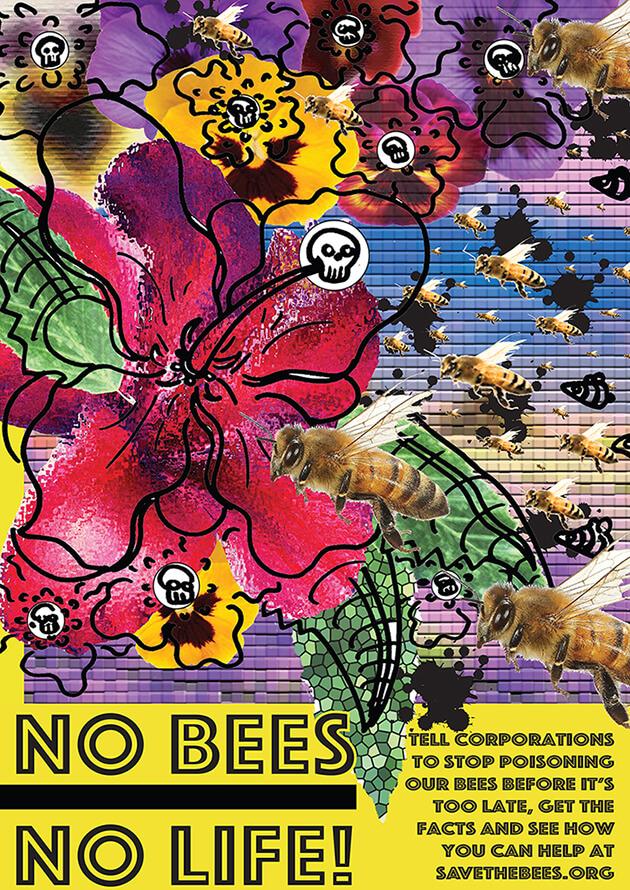 No Bees poster