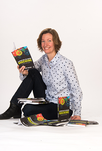 karen gaffney with books