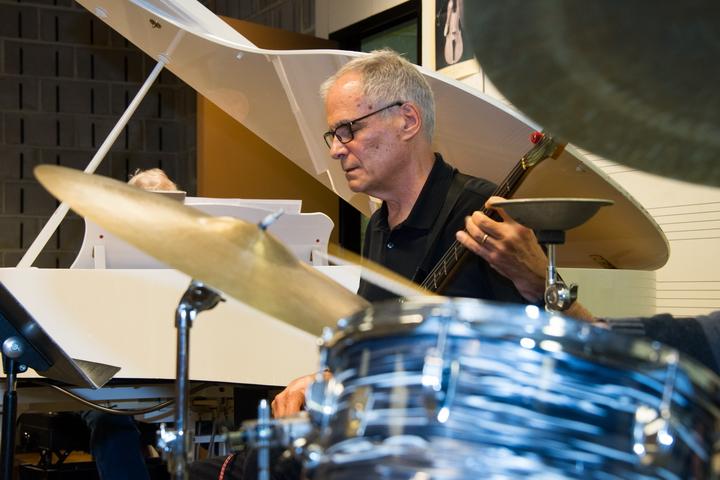 john loehrke playing bass