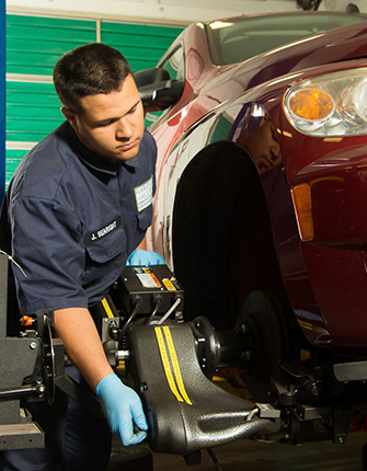 Automotive Technology Tire Change