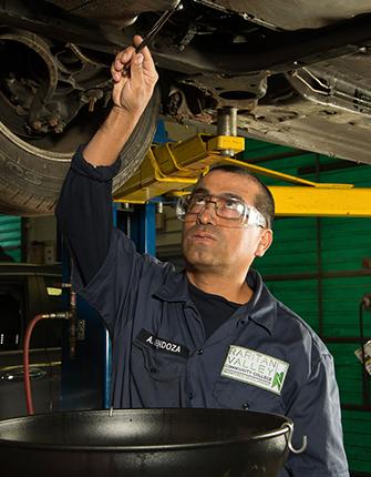 Automotive Technology Oil Change