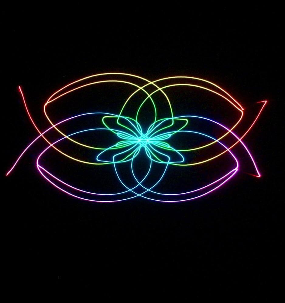 planetarium laser image
