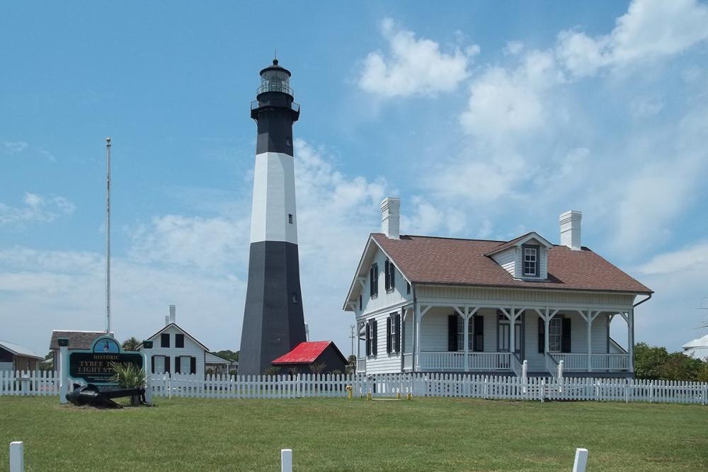 lighthouse in savannah