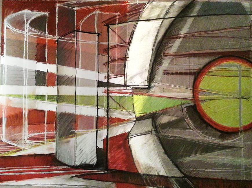 inside or art artwork