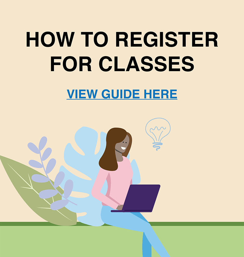 how to register for fall classes click here to view guide