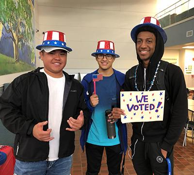 Student Voter Engagement Lauded