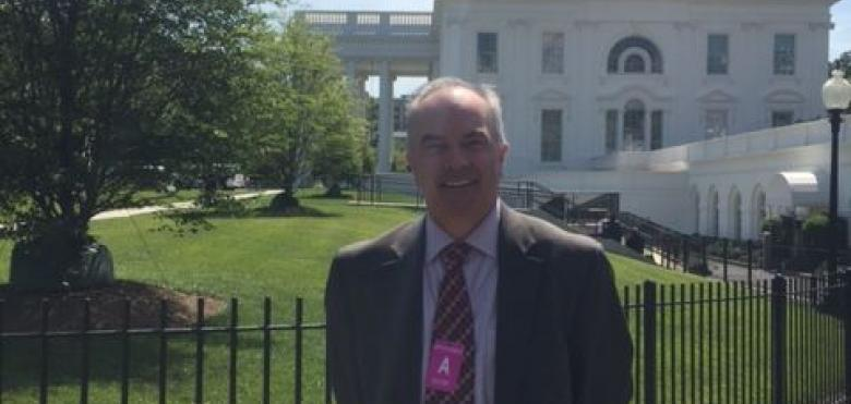 RVCC President Michael J. McDonough  at White House