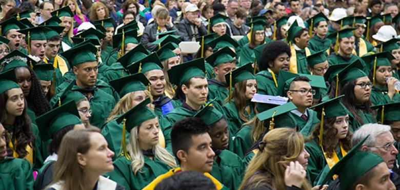RVCC graduates at the College's 48th spring commencement