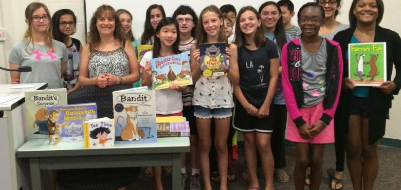 RVCC Chapter book authors class