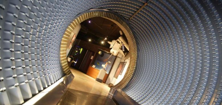 Planetarium tunnel