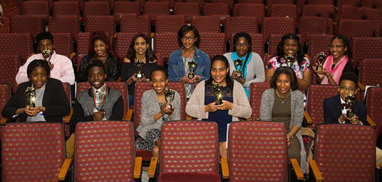 Robeson middle school winners