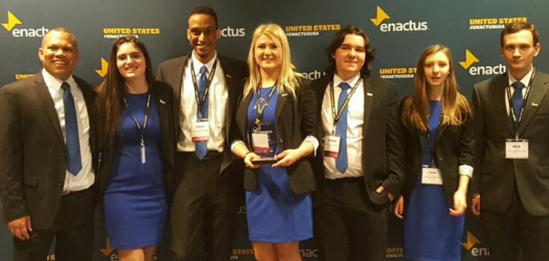 RVCC Enactus team named Regional League Champion