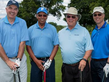 President McDonough and friends from Gillen & Johnson enjoy the 13th Annual Golf Classic.
