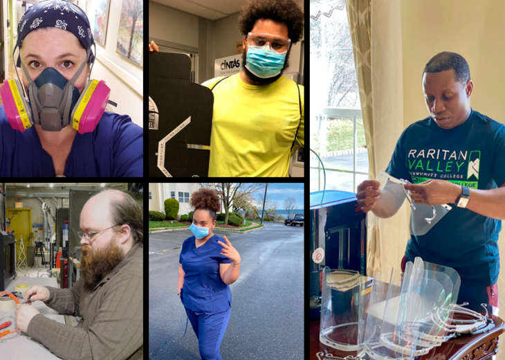 RVCC's Heroes Put Their Career Skills into Action During the Pandemic