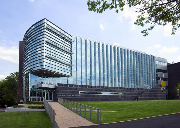 silver building at ramapo college