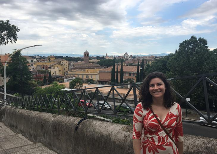 lauren braun in rome