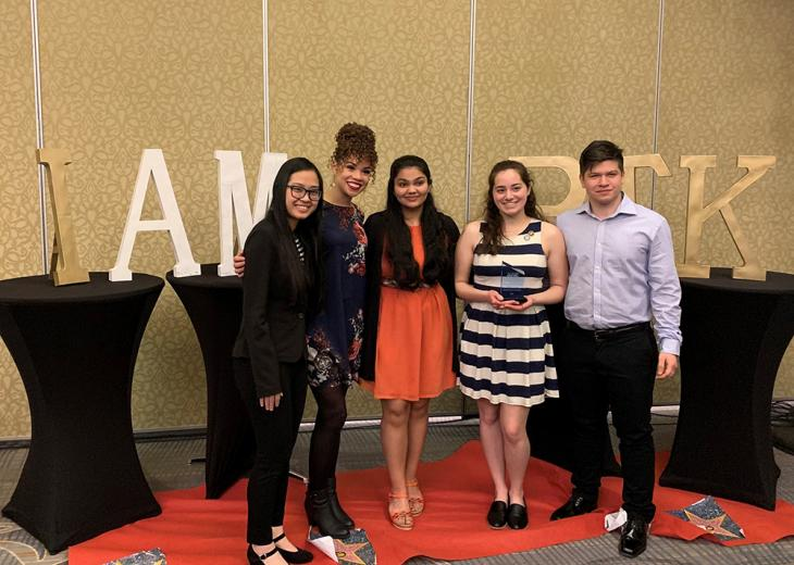 ptk officers at regional convention