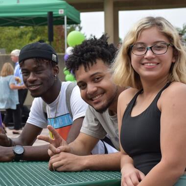 2021 Fall Student Picnic Friends