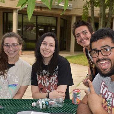 2021 Fall Student Picnic Enjoying the Day