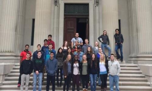 honors college students at vanderbuilt