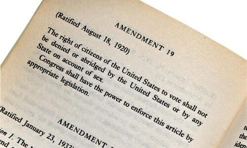 text of 19th amendment