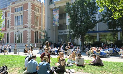 Moore College campus