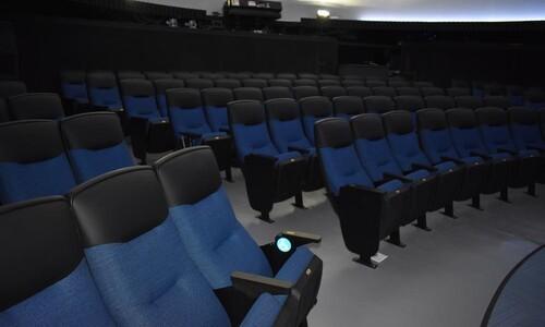 renovated planetarium seats