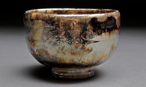 gold teabowl
