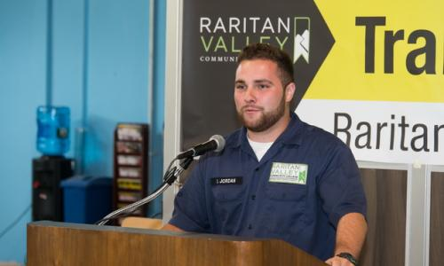 Scott Jordan at podium