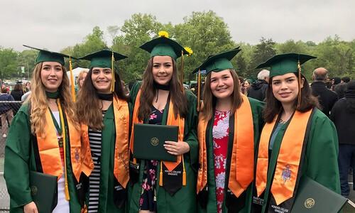 Honors College female grads