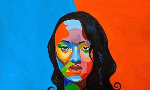 olivia jones pop art self portrait