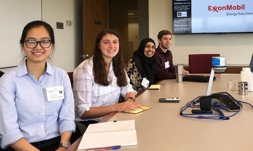 students at exxon