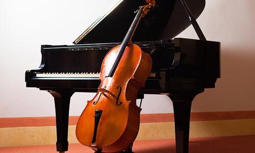 picture of piano and cello