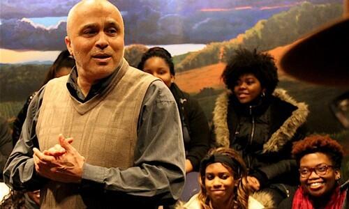 david pilgrim with students