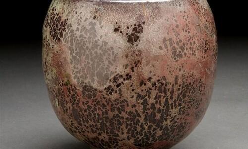 raku ceramic piece