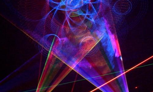 laser image