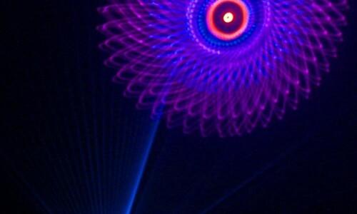 laser image swirl