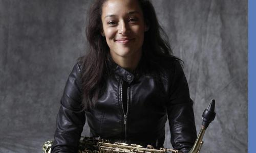 vanessa collier with sax
