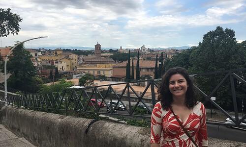 lauren braun in rome